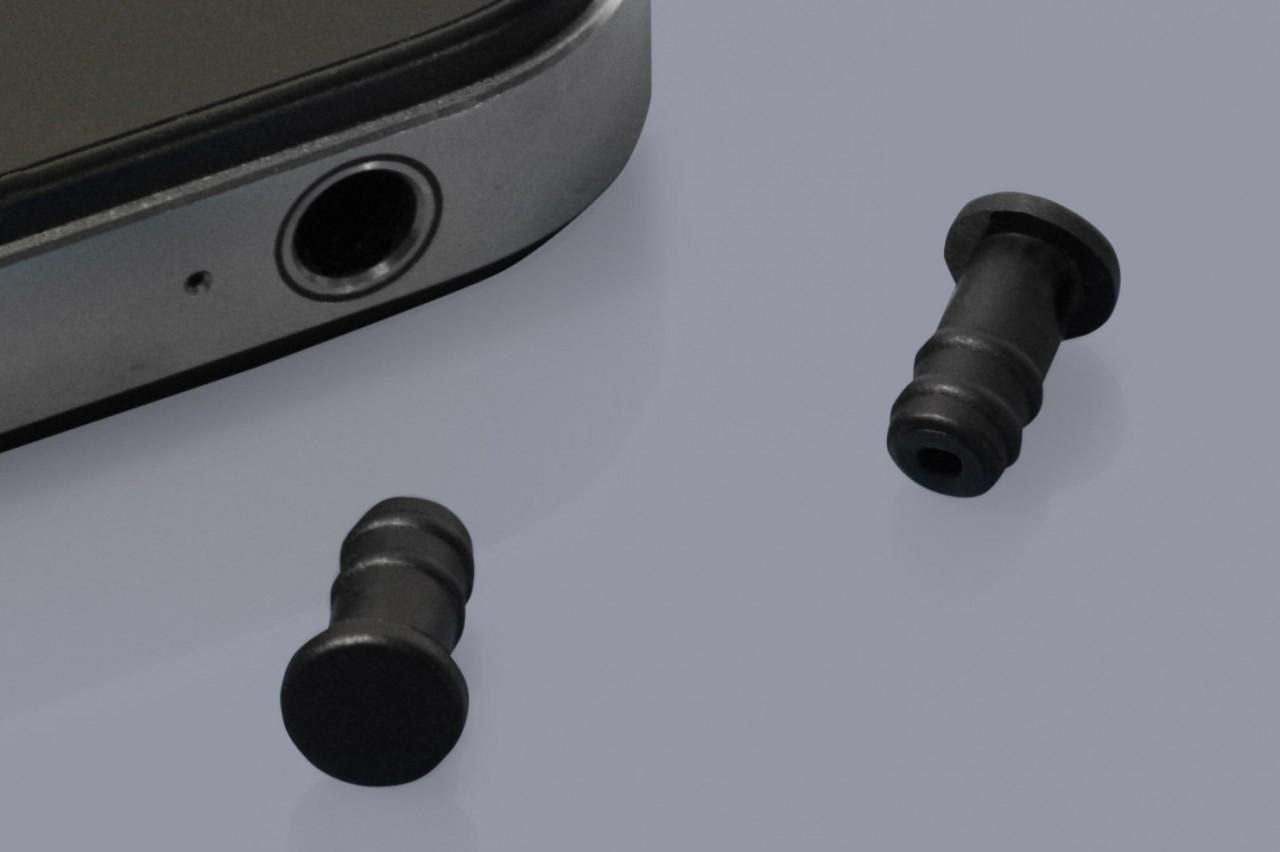 Staubschutzkappen für Klinken 3,5 mm Buchsen (Kopfhöreranschluss)