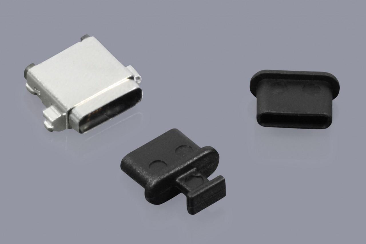 Staubschutzkappen für USB Typ C 3.1 Buchsen