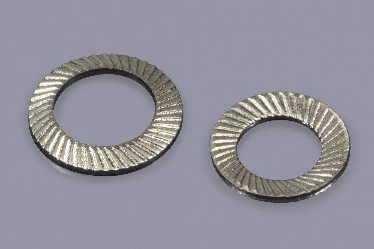 Sicherungsscheiben aus Metall