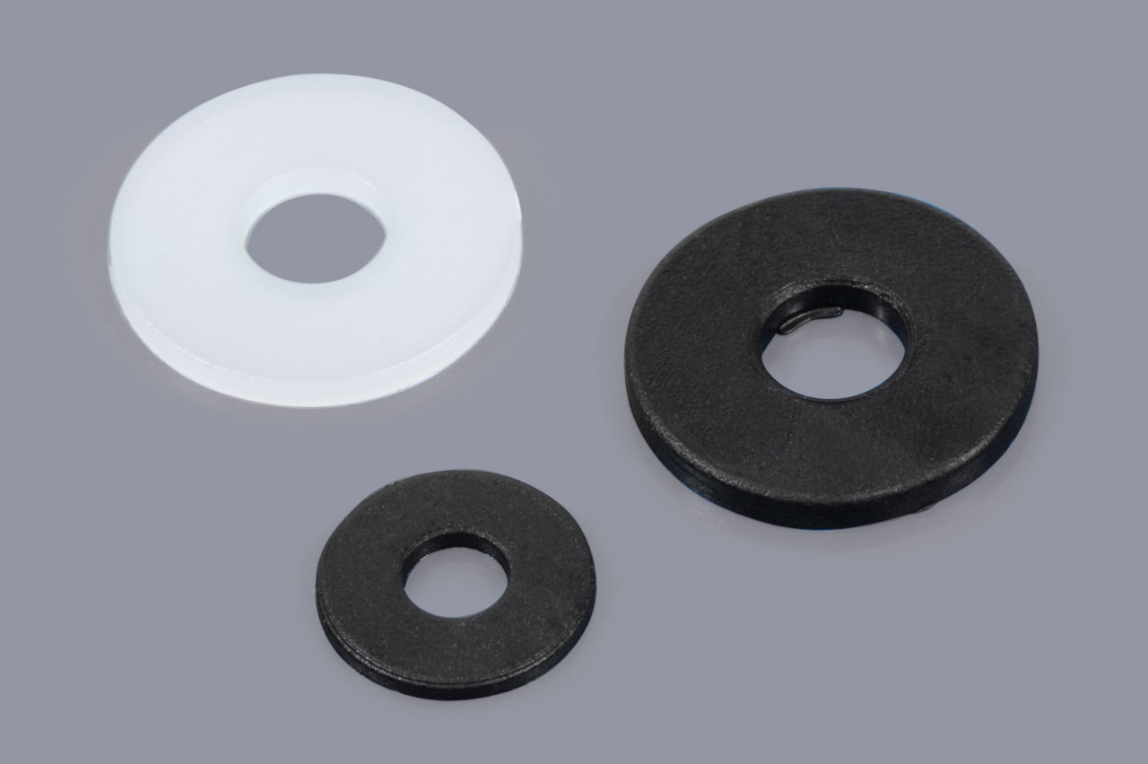 DIN 9021 / ISO 7093 - Distanzscheiben aus Kunststoff