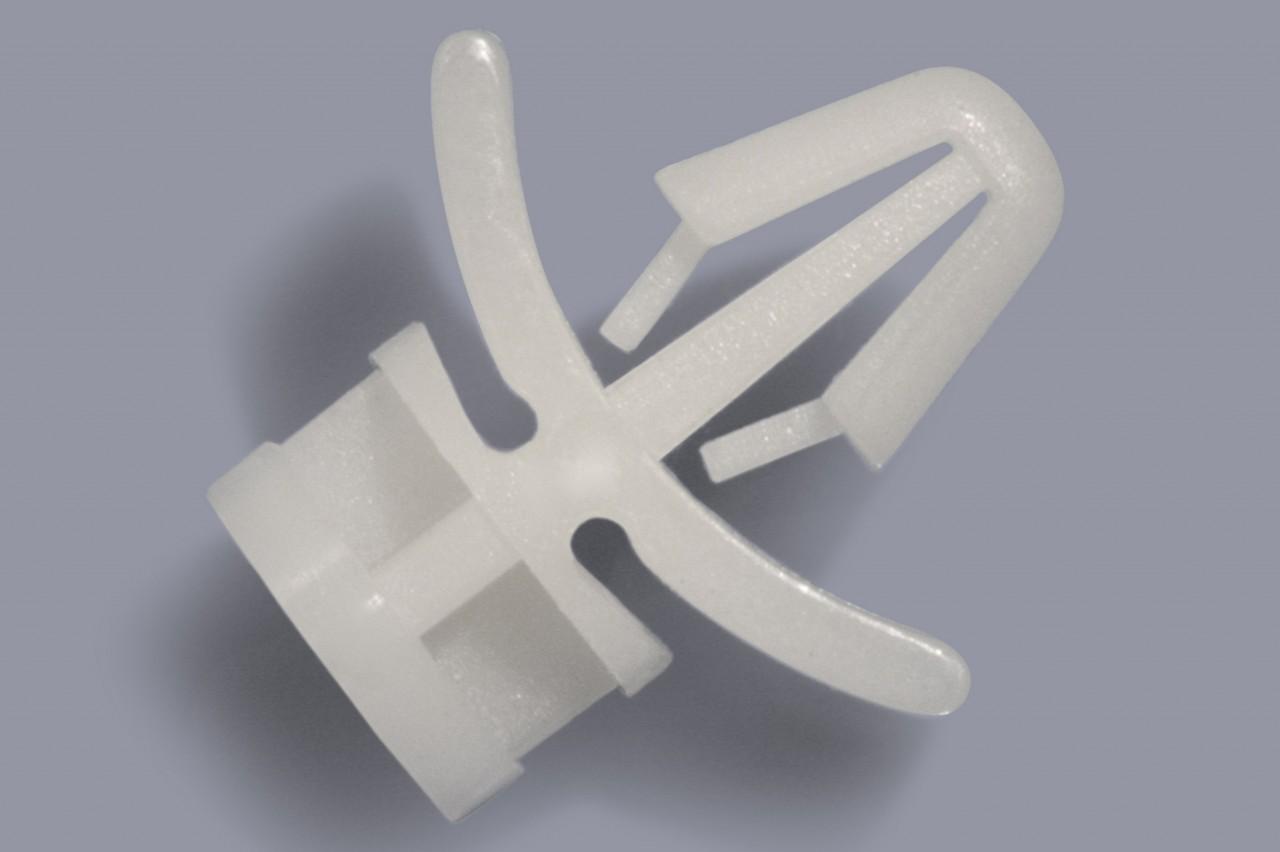 Stützpfosten aus Kunststoff zum Stecken