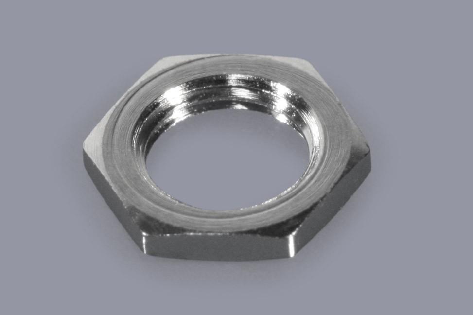 DIN 439 / ISO 4035 - Metall-Muttern Sechskant flach mit Feingewinde