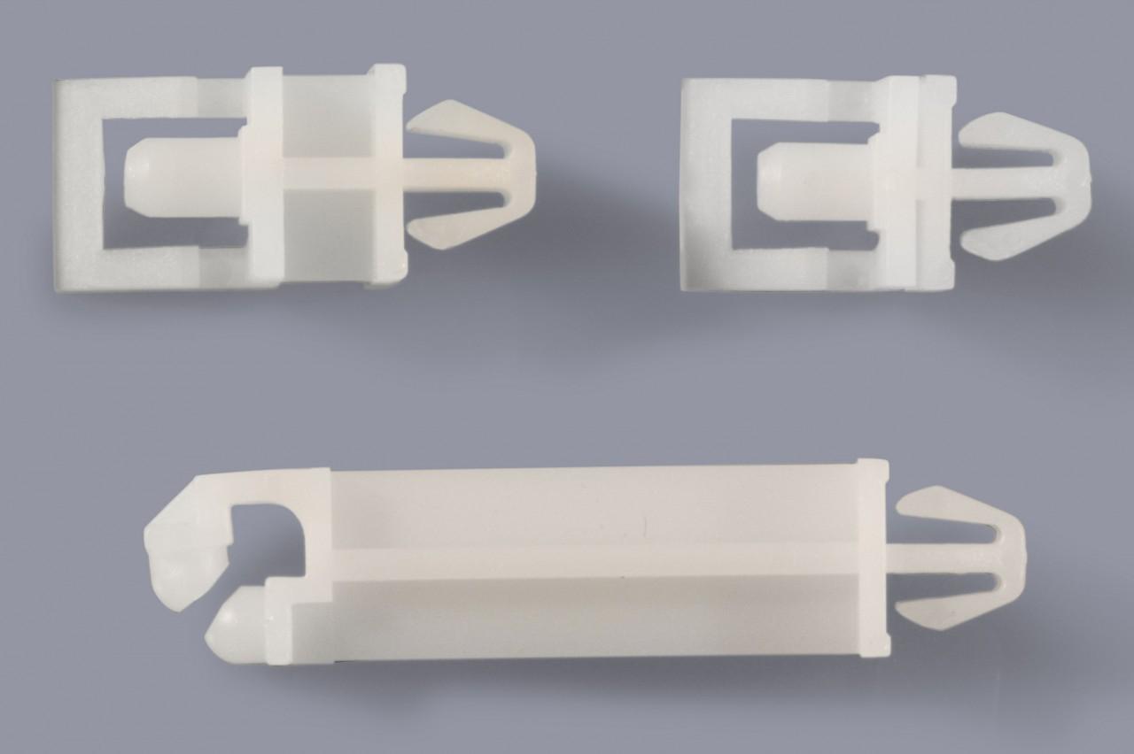 Distanzhalter / Abstandshalter aus Kunststoff einrastend und schwenkbar für Leiterplattendemontage
