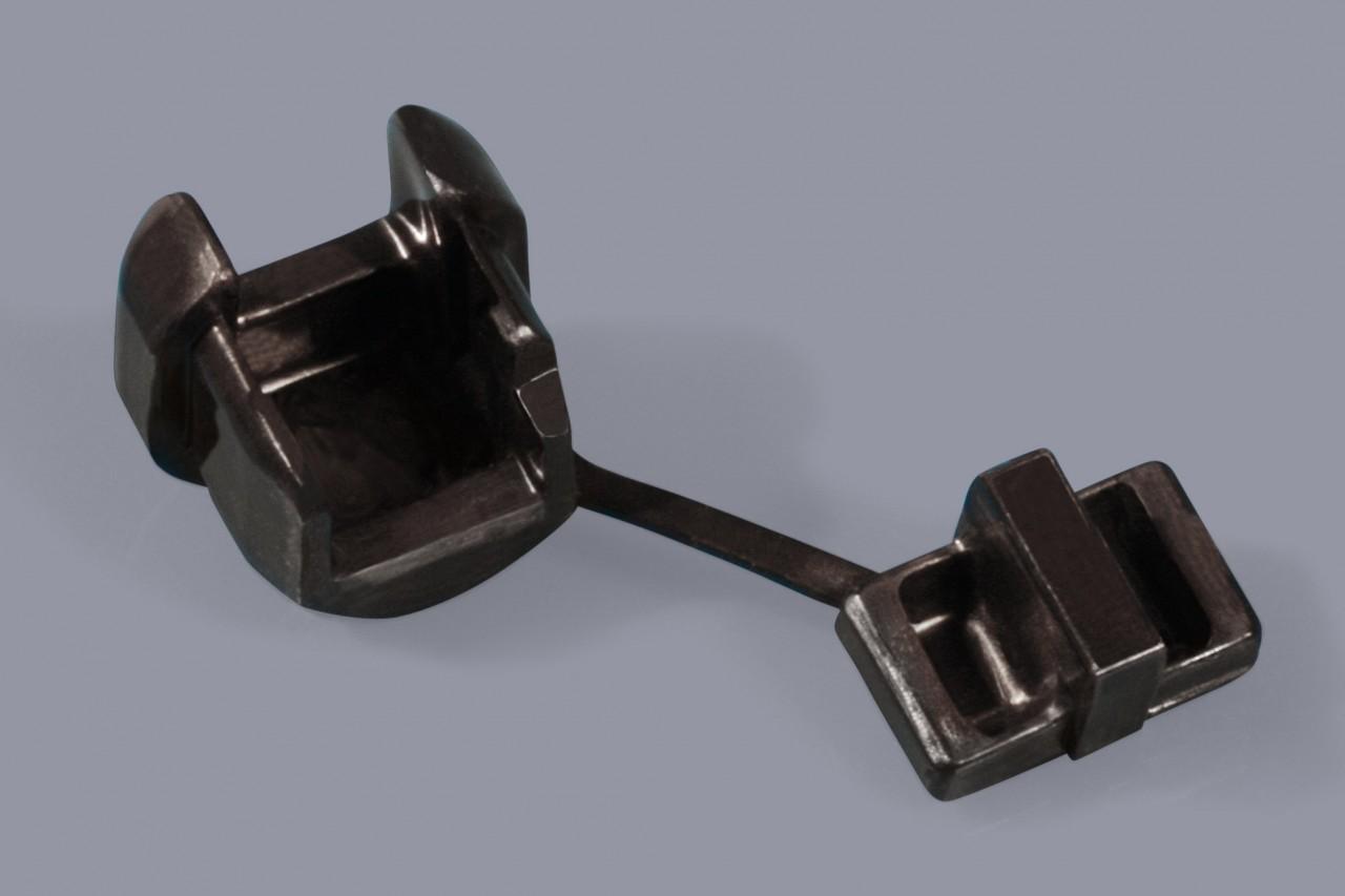Kabelzugentlaster für Rundkabel und Flachkabel