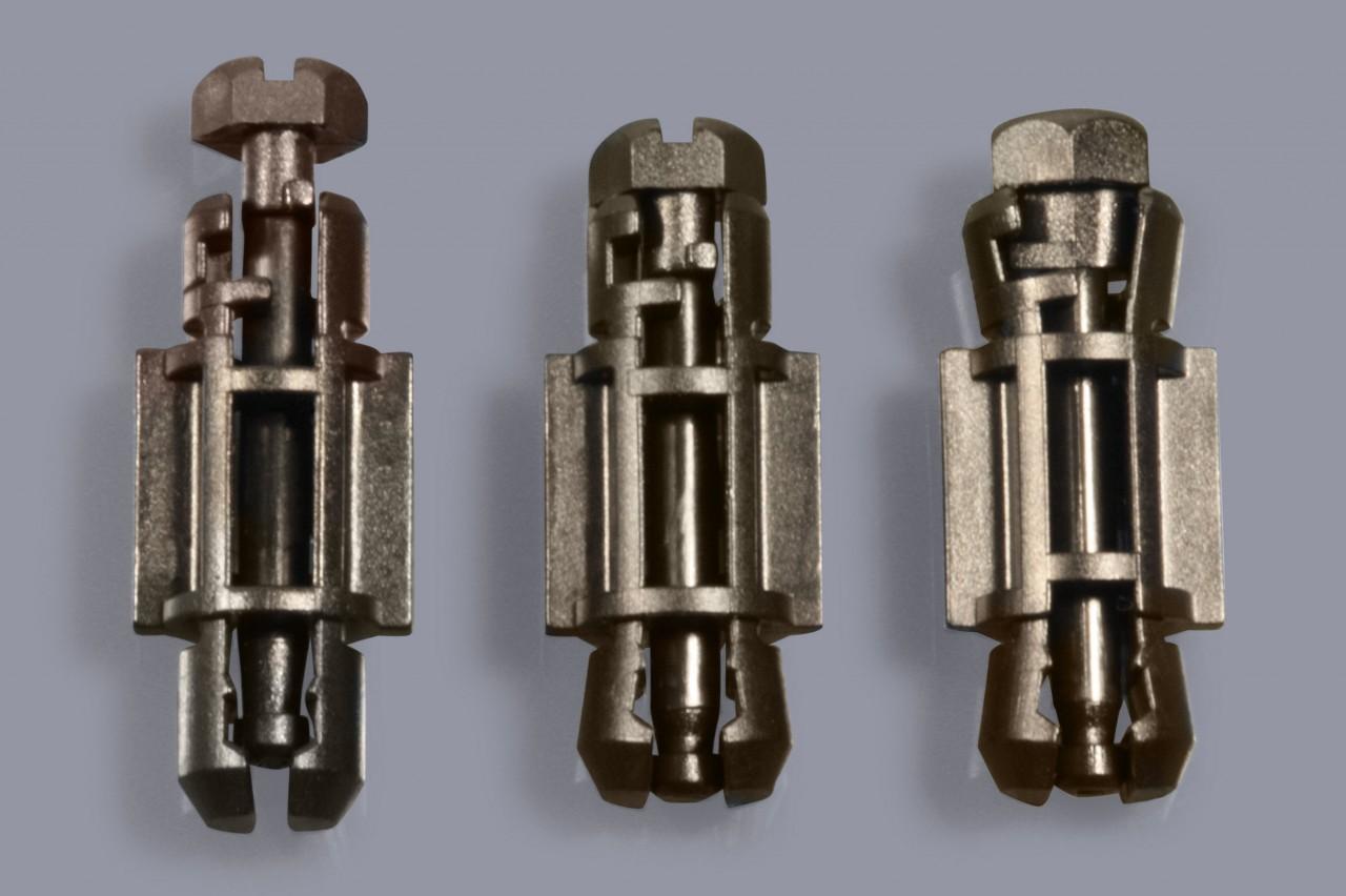 Distanzhalter / Abstandshalter aus Kunststoff lösbar und mit 1/4-Drehverschluss