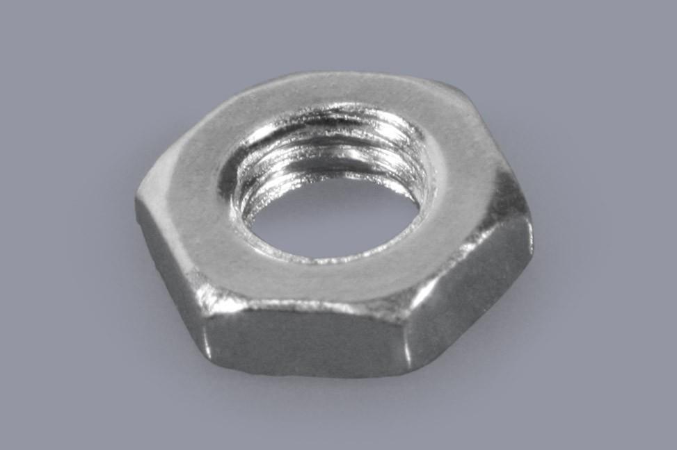 DIN 439 / ISO 4035 - Metall-Muttern Sechskant flach