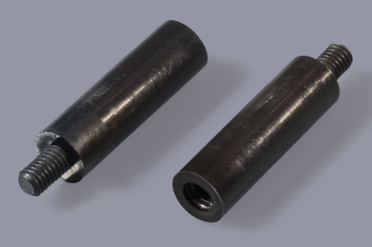 Distanzbolzen / Abstandsbolzen aus Kunststoff mit Außen-/Innen-Gewinde (A/I), rund
