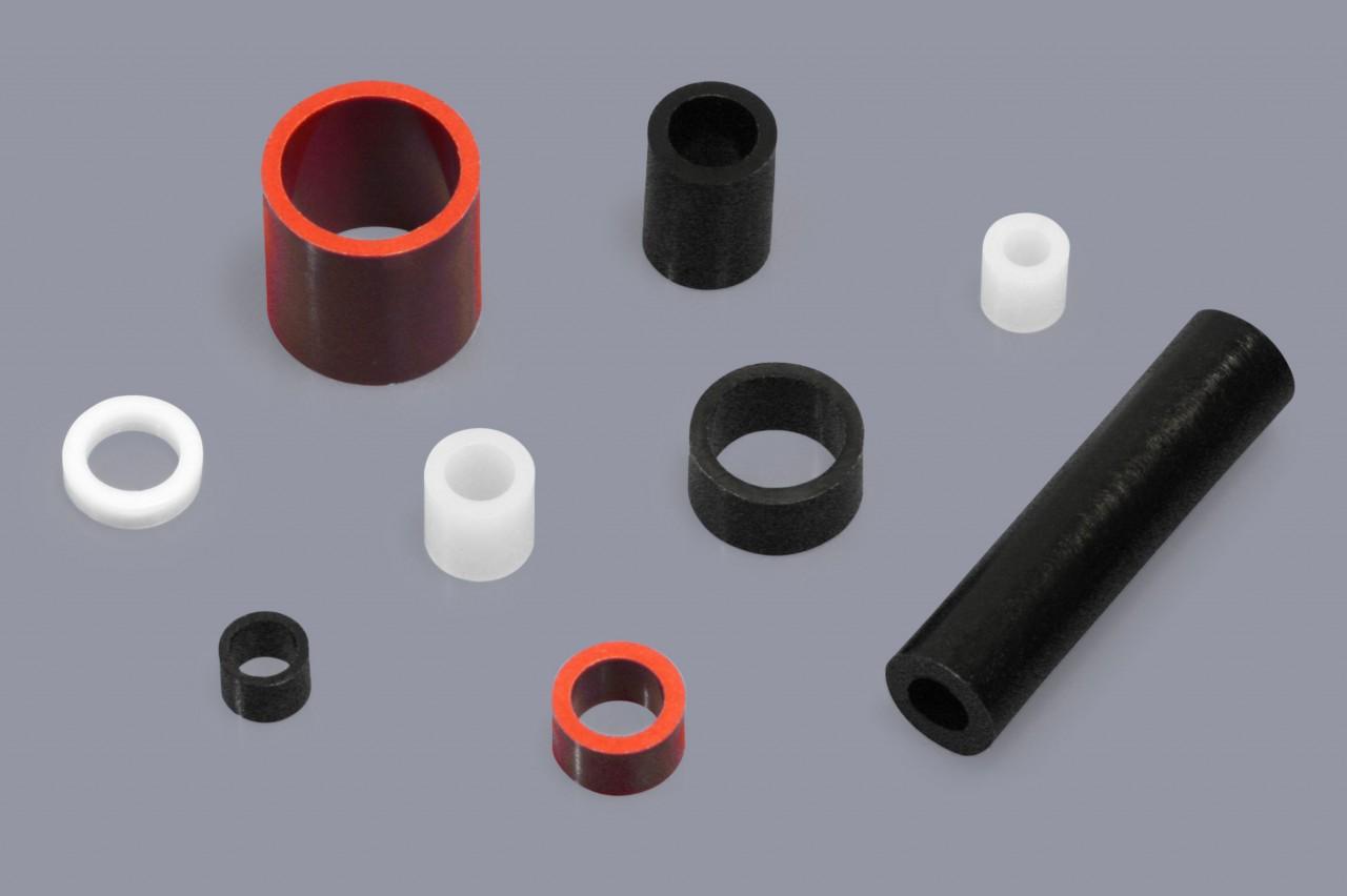 Distanzhülsen / Distanzröhrchen aus Kunststoff