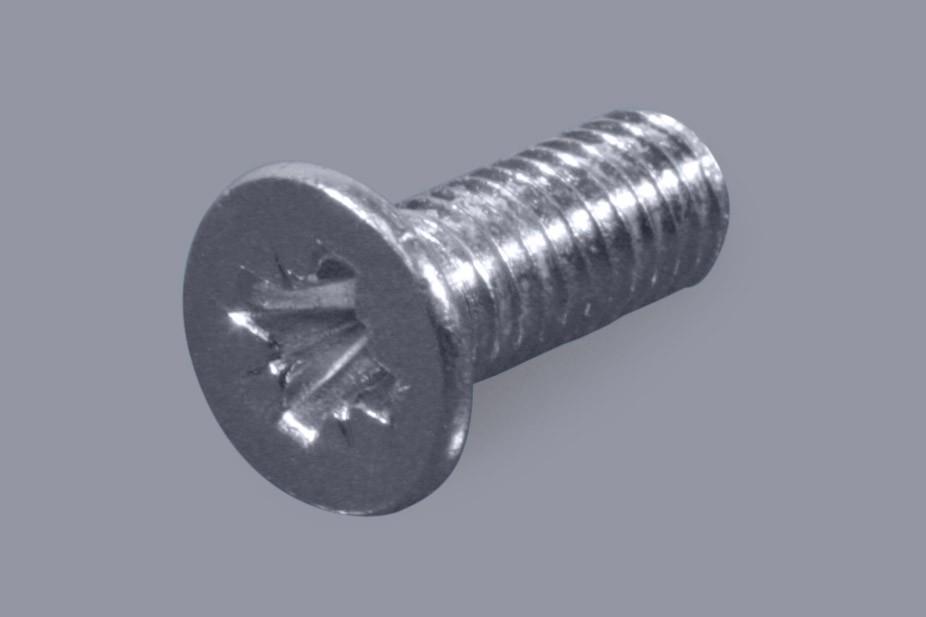 DIN 965 / ISO 7046 (Form Z) - Metall-Schrauben Senkkopf + Pozidriv-Kreuzschlitz