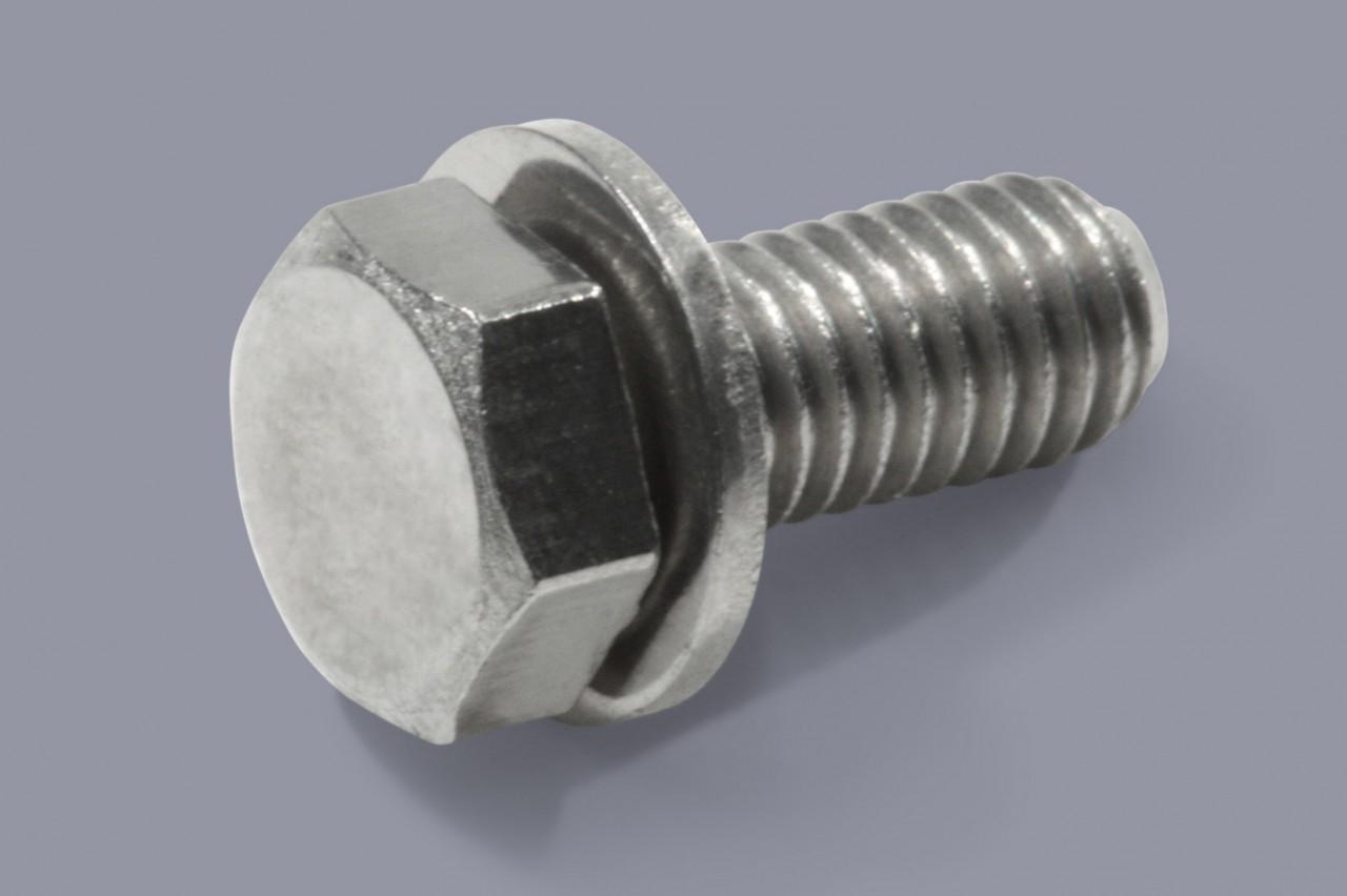 DIN 6900-1 Z1 DIN 933 - Kombischrauben Sechskant mit flacher Unterlegscheibe - ISO 10644 S1-N