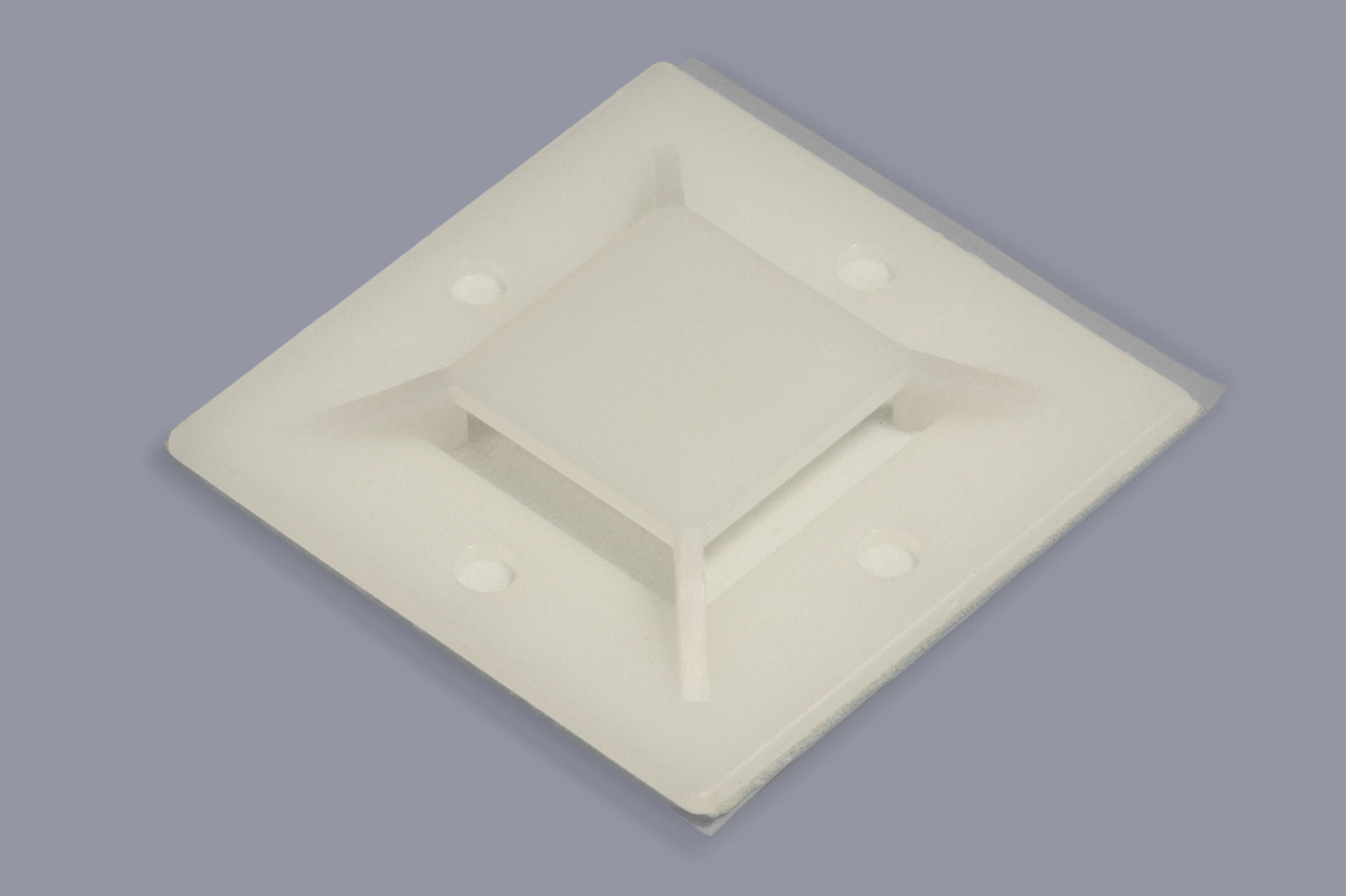 klettband montagesockel kabelbinderhalter a r t elektromechanik. Black Bedroom Furniture Sets. Home Design Ideas