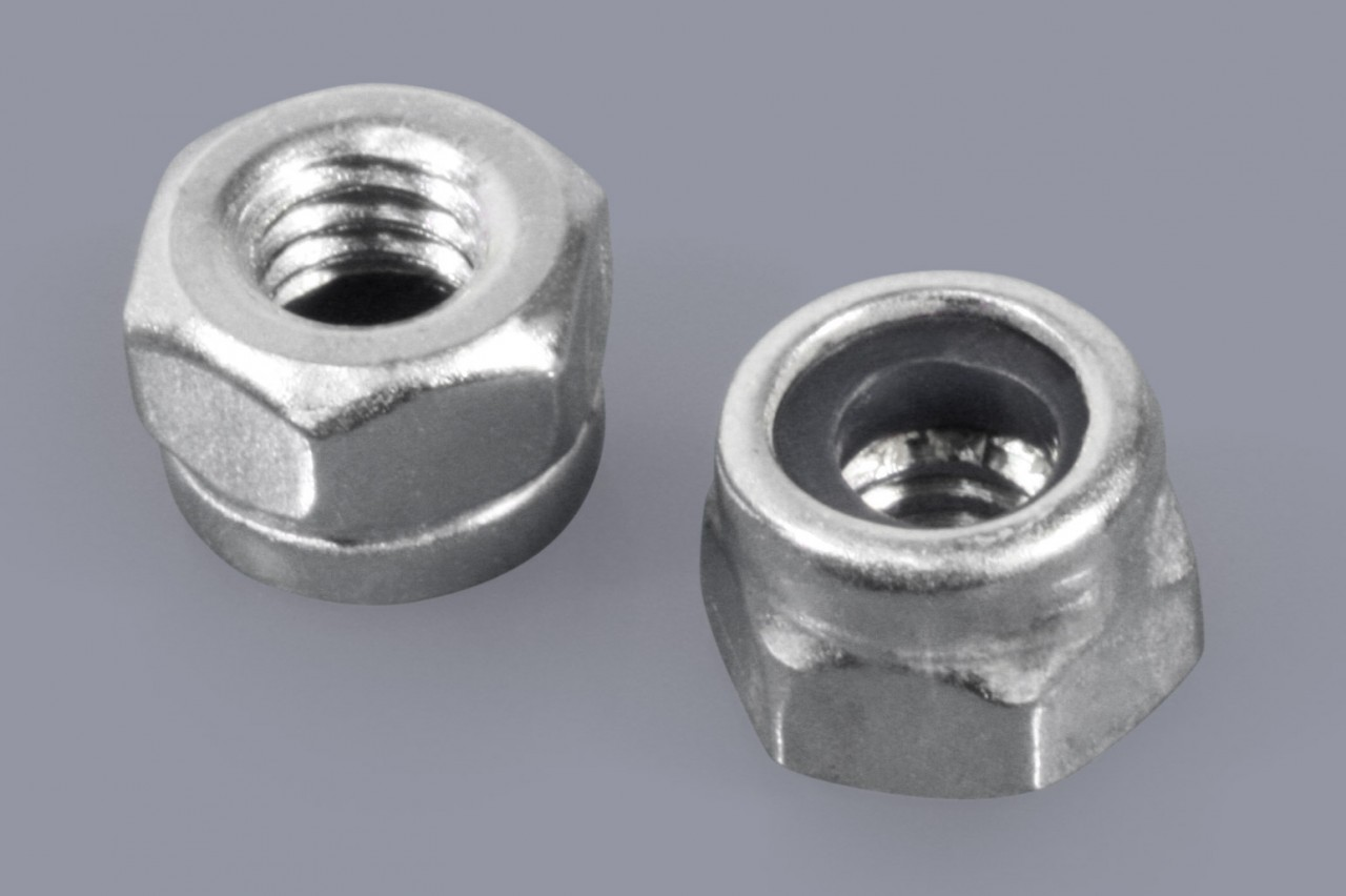 DIN 985 / ISO 10511 - Metall-Muttern Sechskant mit Klemmteil