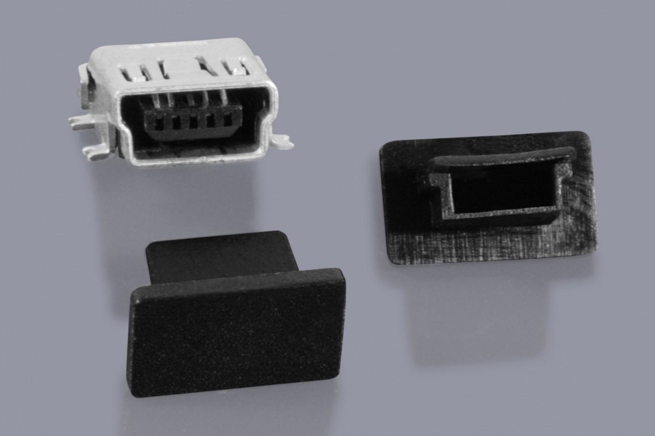 Staubschutzkappen für Mini-USB Buchsen
