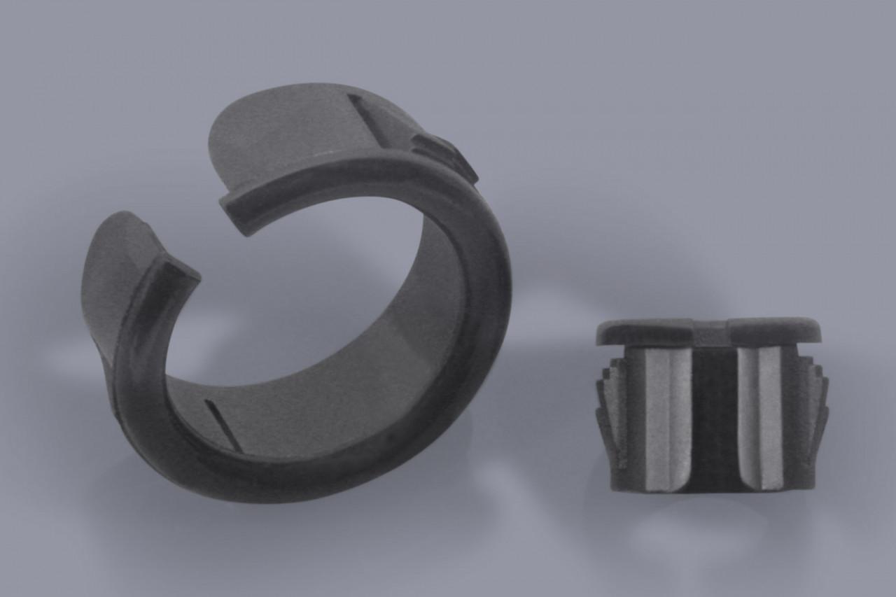 Durchführungstüllen Kabelschutztüllen aus Kunststoff seitlich geöffnet für nachträgliche Montage