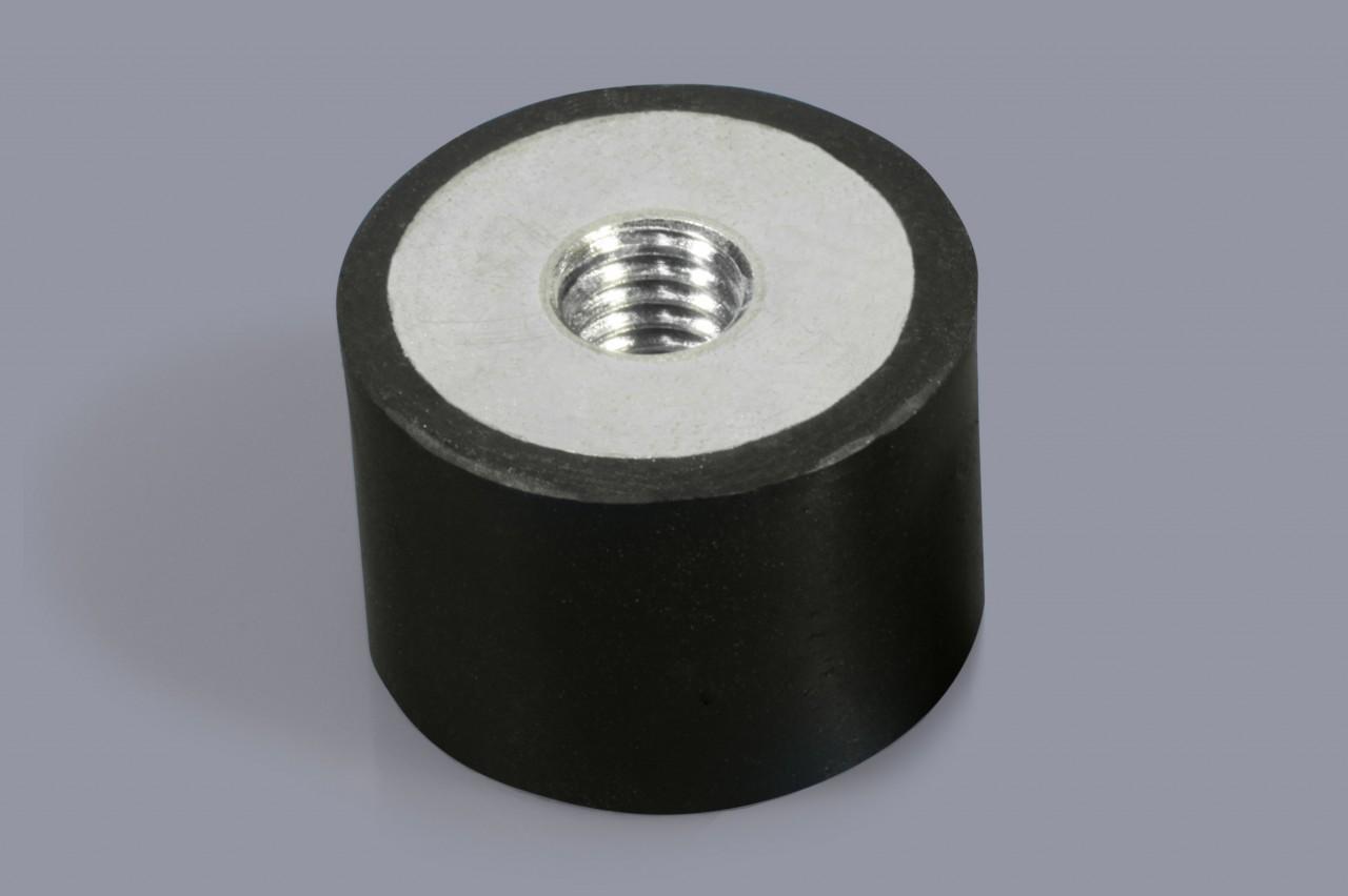 Schwingungsdämpfer / Schwingmetalle mit einem Innengewinde