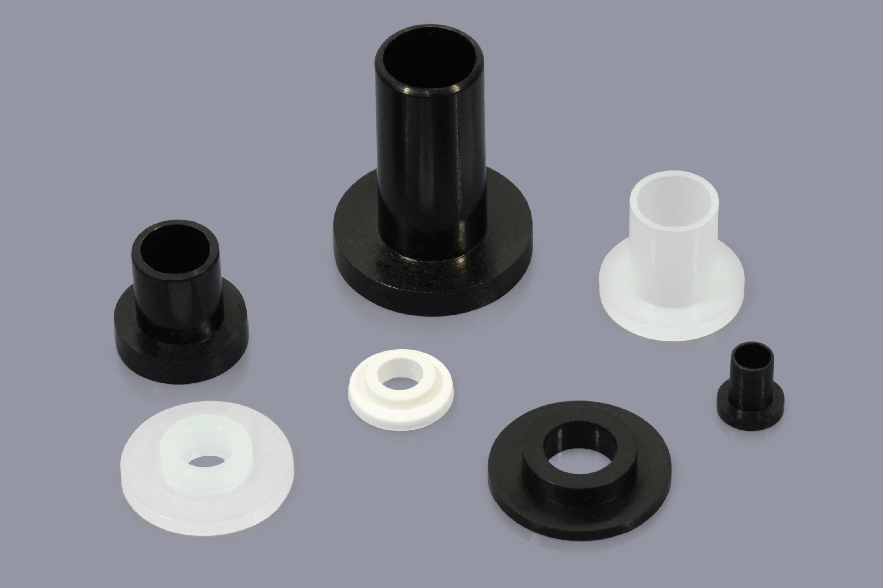 4,0mm; Bund-Ø 6,2mm 2,4mm; Schaft-Ø Isolierbuchsen aus PA natur Bohr-Ø