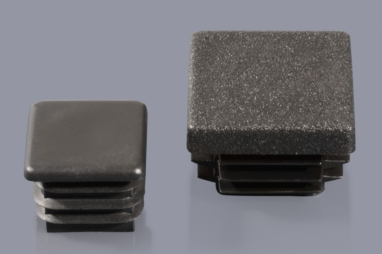 GRAU 10 Lamellenstopfen 25 mm Rohrwandstärke 1-2,5 mm rund in