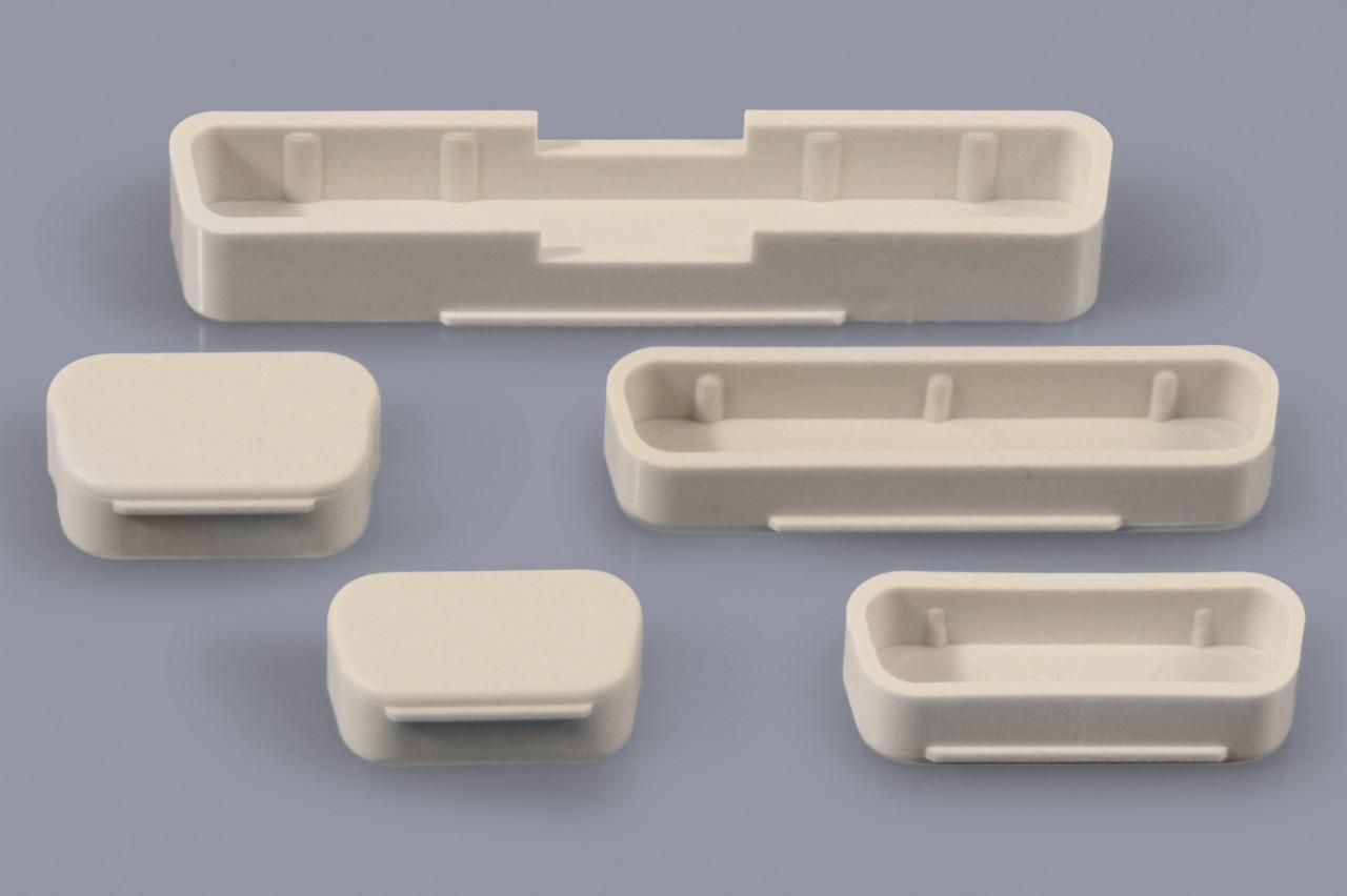Staubschutzkappen für D-Sub Buchsen und D-Sub Stecker