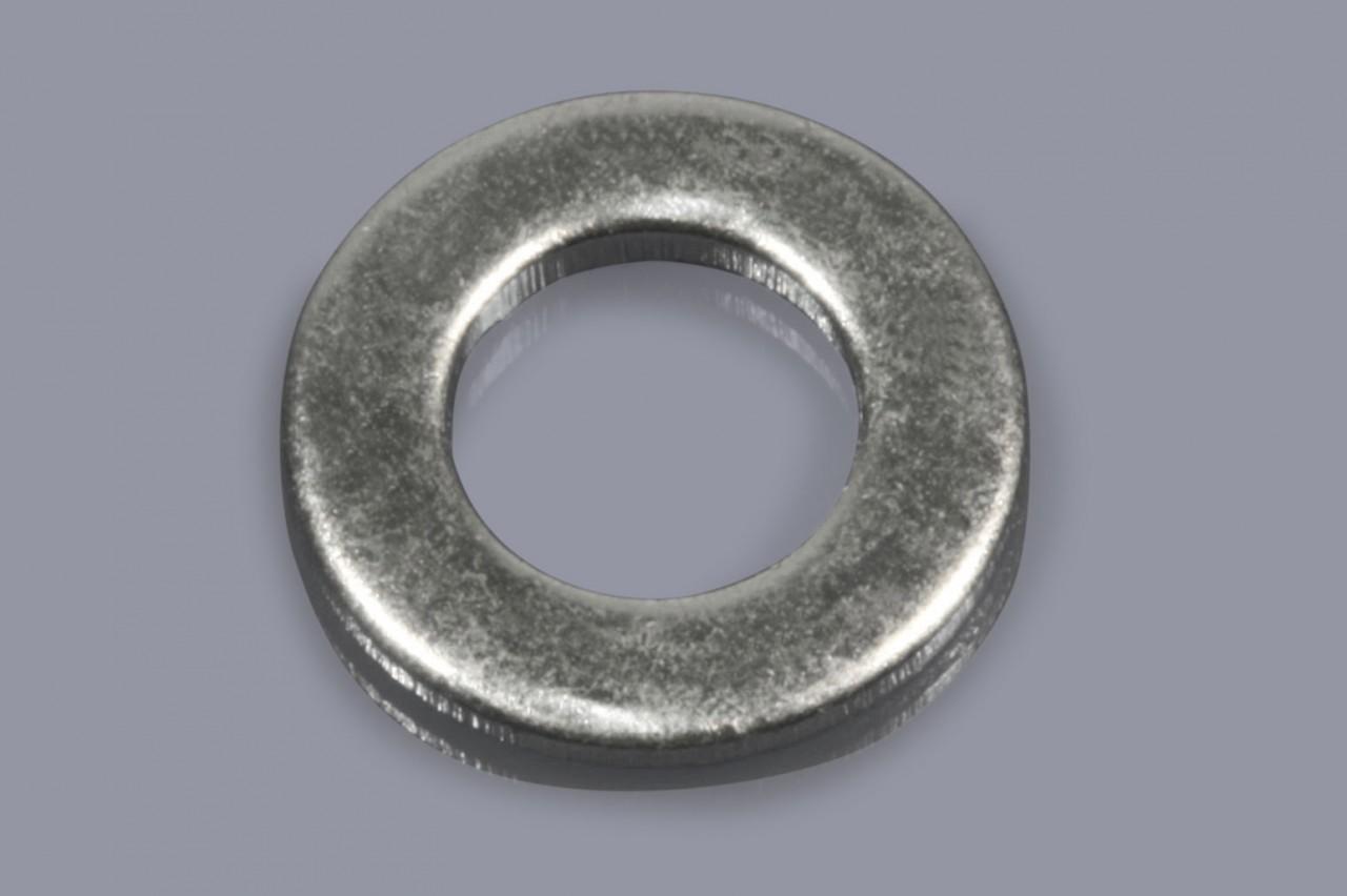 DIN 125 A / ISO 7089 - Distanzscheiben aus Metall ohne Fase (Standard)