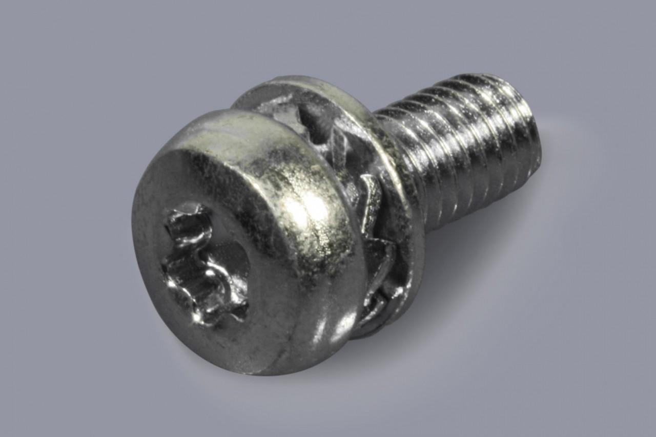 DIN 6900-4 Z7-1 - Kombischrauben Torx mit Fächerscheibe und flacher Unterlegscheibe