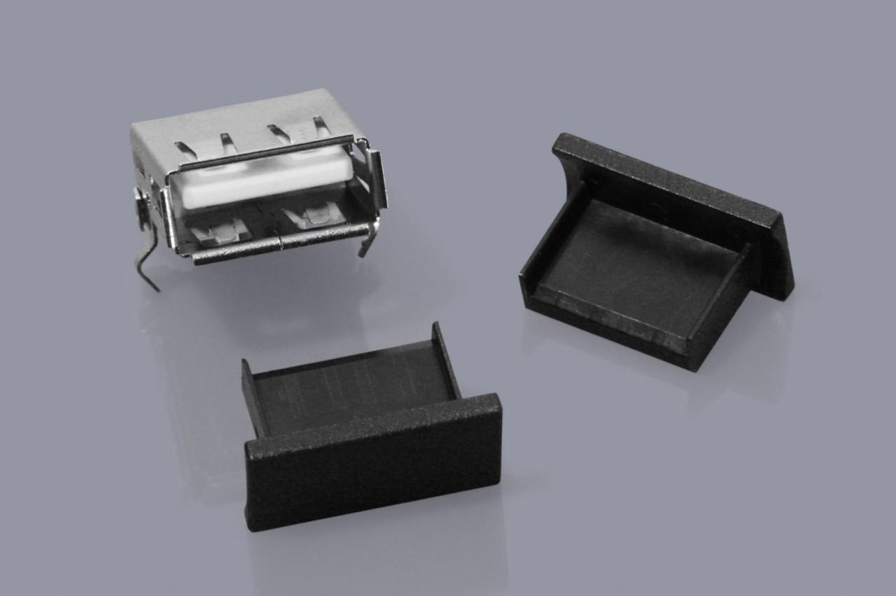 Staubschutzkappen für USB Typ A Buchsen