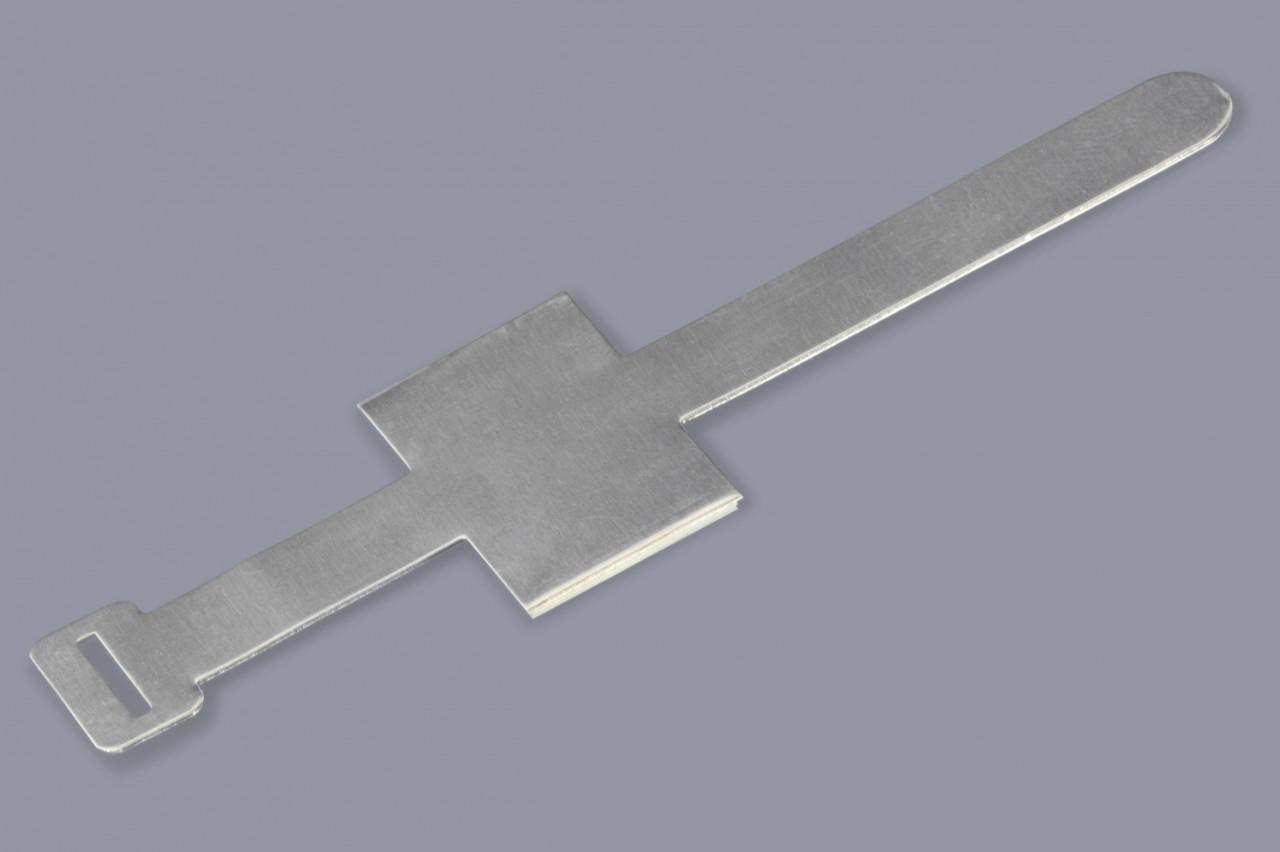 Aluminium-Kabelklammern für runde Kabel