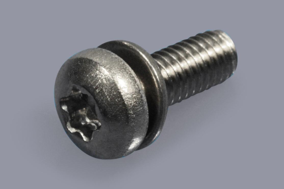 DIN 6900-1 Z1 + Z0 - Kombischrauben Torx mit flacher Unterlegscheibe - ISO 10644 S11-N + S11-S